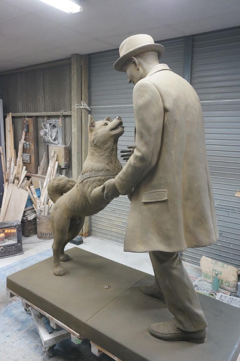 Hachiko, el perro fiel.