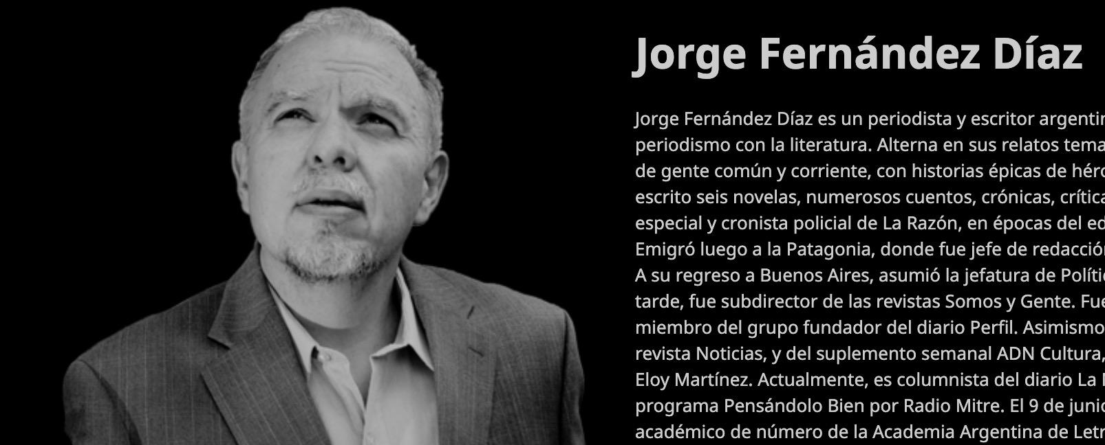 Entrevista con Jorge Fernández Díaz